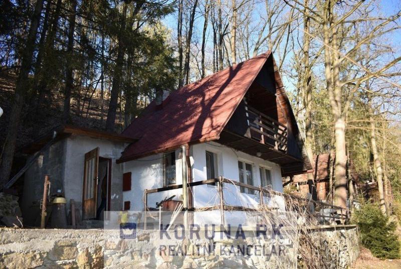 Prodej rekreační chaty v obci Komařice